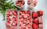 Как заморозить клубнику целиком
