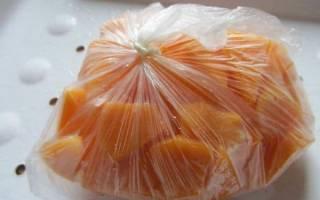 Как заморозить тыкву на зиму в домашних условиях