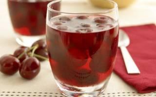 Вишневый сок на зиму