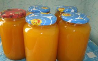 Тыквенный сок с апельсинами в домашних условиях на зиму