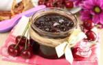 Варенье вишня с какао