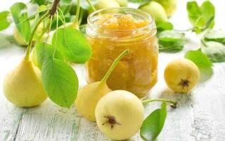 Варенье из твердых груш