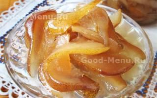 Варенье из груш и апельсинов