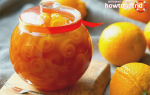 Варенье из корок апельсина