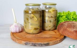 Огурцы соленые с горчицей
