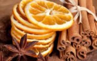 Как засушить дольки апельсина