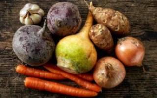 Хранение овощей на балконе