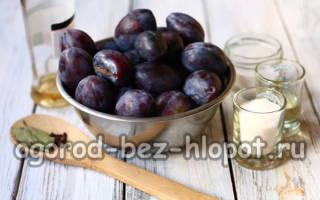 Мариновать сливы как оливки